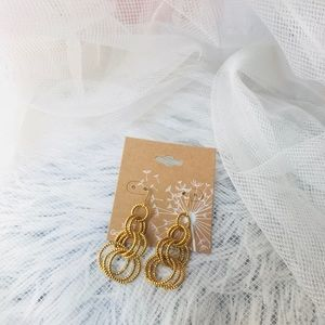 14KT Gold plated earrings